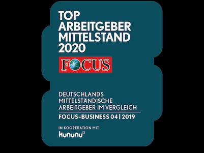 Auszeichnung - Focus MKU