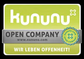Auszeichnung - Kununu Open Company